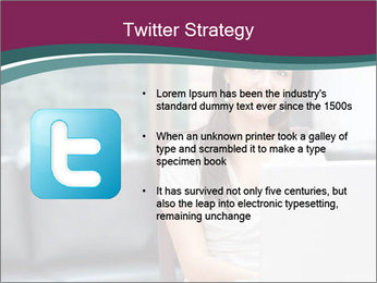 Woman working PowerPoint Templates - Slide 9