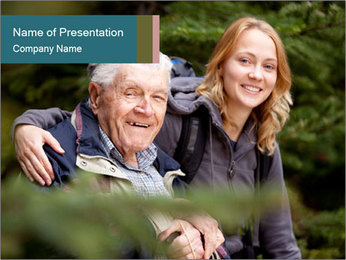 Grandfather PowerPoint Templates - Slide 1