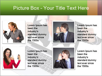 Angry man PowerPoint Templates - Slide 14