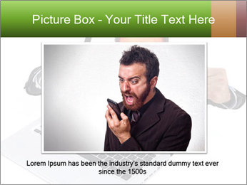 Angry man PowerPoint Templates - Slide 15