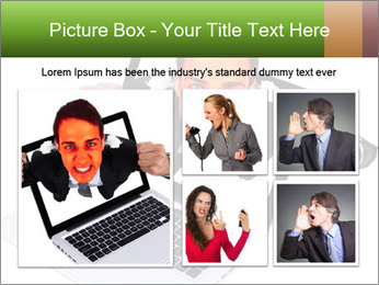 Angry man PowerPoint Templates - Slide 19