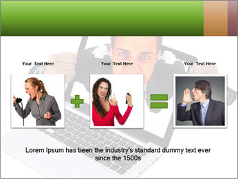 Angry man PowerPoint Templates - Slide 22