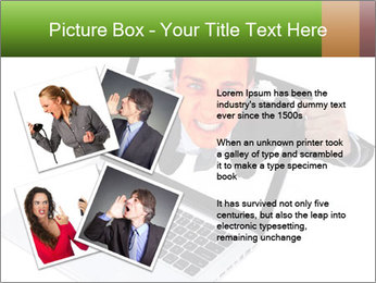 Angry man PowerPoint Templates - Slide 23