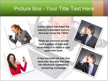 Angry man PowerPoint Templates - Slide 24