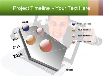 Angry man PowerPoint Templates - Slide 26
