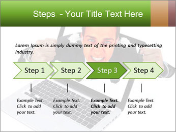 Angry man PowerPoint Templates - Slide 4