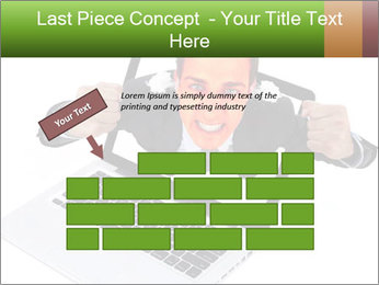 Angry man PowerPoint Templates - Slide 46