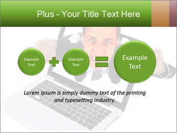 Angry man PowerPoint Templates - Slide 75