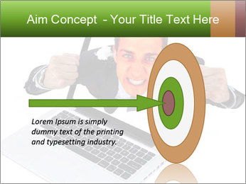 Angry man PowerPoint Templates - Slide 83