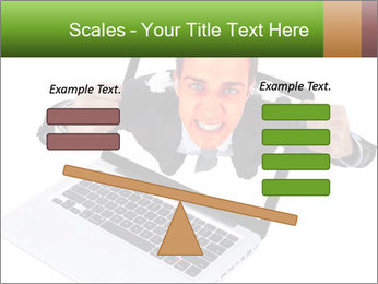 Angry man PowerPoint Templates - Slide 89