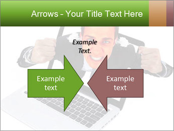 Angry man PowerPoint Templates - Slide 90