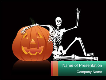 Halloween PowerPoint Template - Slide 1