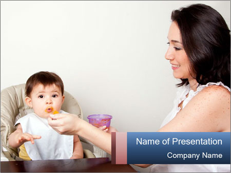 Happy mother PowerPoint Template