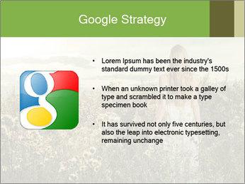 Girl in field PowerPoint Template - Slide 10