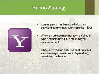 Girl in field PowerPoint Template - Slide 11