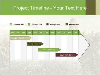 Girl in field PowerPoint Template - Slide 25