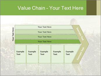 Girl in field PowerPoint Template - Slide 27
