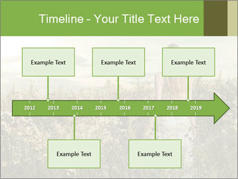 Girl in field PowerPoint Template - Slide 28