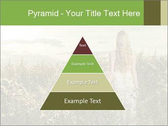 Girl in field PowerPoint Template - Slide 30