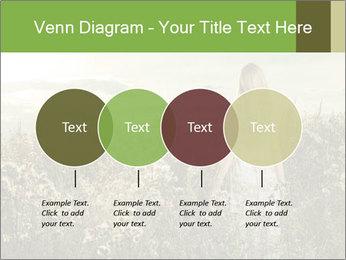 Girl in field PowerPoint Template - Slide 32