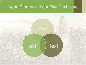 Girl in field PowerPoint Template - Slide 33