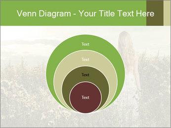 Girl in field PowerPoint Template - Slide 34