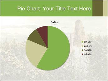 Girl in field PowerPoint Template - Slide 36