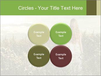 Girl in field PowerPoint Template - Slide 38