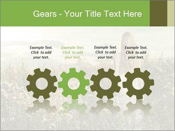 Girl in field PowerPoint Template - Slide 48