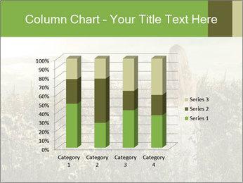 Girl in field PowerPoint Template - Slide 50