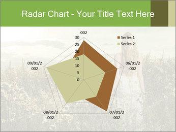 Girl in field PowerPoint Template - Slide 51