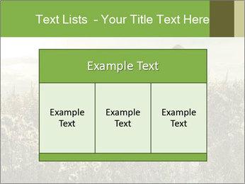 Girl in field PowerPoint Template - Slide 59