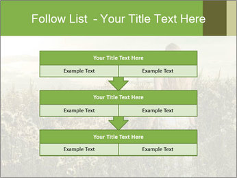 Girl in field PowerPoint Template - Slide 60