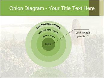 Girl in field PowerPoint Template - Slide 61