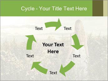 Girl in field PowerPoint Template - Slide 62