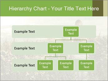 Girl in field PowerPoint Template - Slide 67