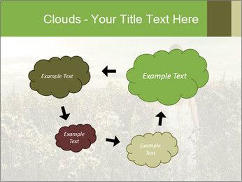 Girl in field PowerPoint Template - Slide 72
