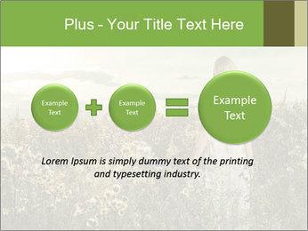 Girl in field PowerPoint Template - Slide 75