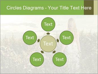 Girl in field PowerPoint Template - Slide 78