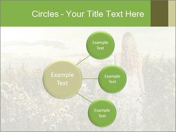 Girl in field PowerPoint Template - Slide 79