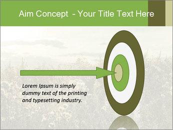 Girl in field PowerPoint Template - Slide 83