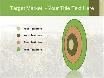 Girl in field PowerPoint Template - Slide 84