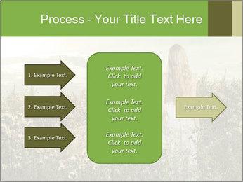 Girl in field PowerPoint Template - Slide 85