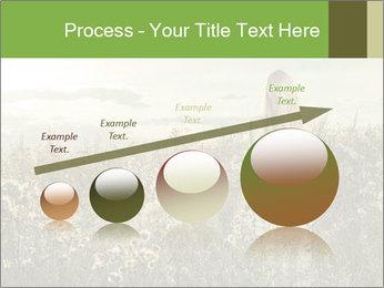Girl in field PowerPoint Template - Slide 87