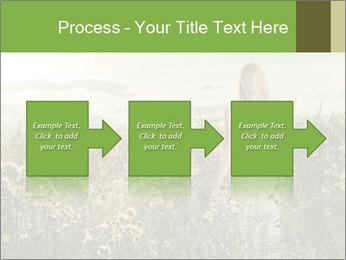 Girl in field PowerPoint Template - Slide 88