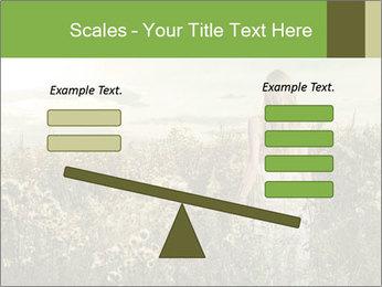 Girl in field PowerPoint Template - Slide 89