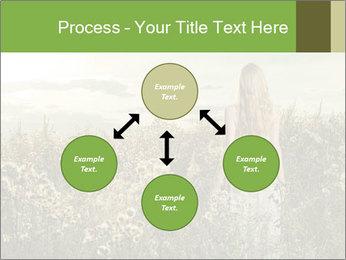 Girl in field PowerPoint Template - Slide 91