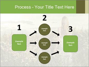 Girl in field PowerPoint Template - Slide 92