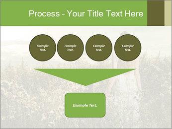 Girl in field PowerPoint Template - Slide 93