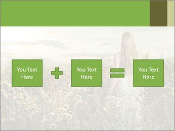Girl in field PowerPoint Template - Slide 95